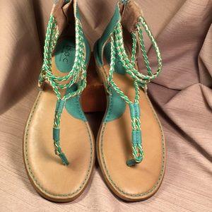 BOC NWOT gladiator sandals